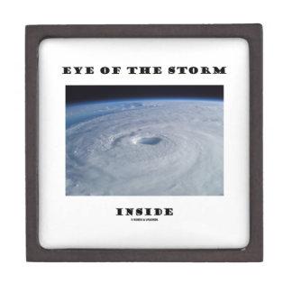 Eye Of The Storm Inside (Hurricane's Eye) Premium Jewelry Box