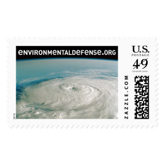 Eye of the Storm Postage Stamp