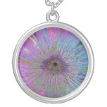 Eye of the Storm Round Pendant Necklace
