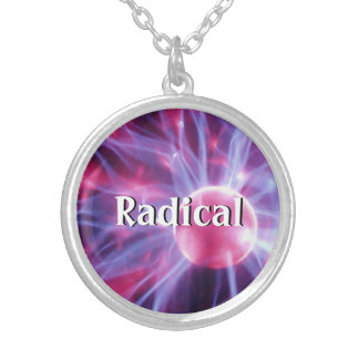 Eye of the Storm Silver Plated Necklace