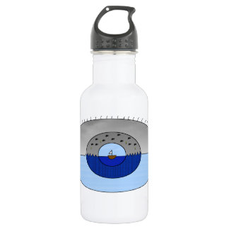 Eye Of The Storm Stainless Steel Water Bottle