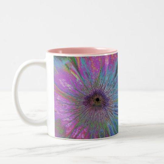 Eye of the Storm Two-Tone Coffee Mug