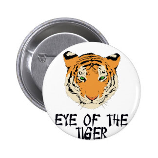 Eye of the Tiger by Chillee Wilson Pinback Button