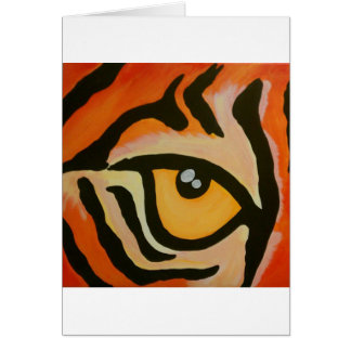 Eye of the Tiger Card