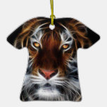 EYE OF THE TIGER CHRISTMAS TREE ORNAMENT
