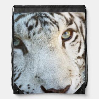 Eye of the Tiger Drawstring Bag