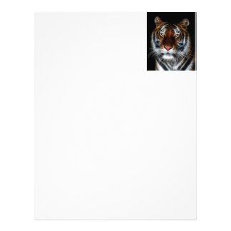 EYE OF THE TIGER PERSONALIZED LETTERHEAD
