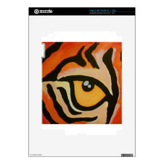 Eye of the Tiger Skins For iPad 2