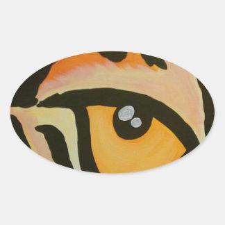Eye of the Tiger Sticker