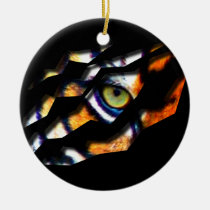 tiger, cat, big, eye, wild, nature, tigers, digital, graphic, wildlife, eyes, Ornament with custom graphic design