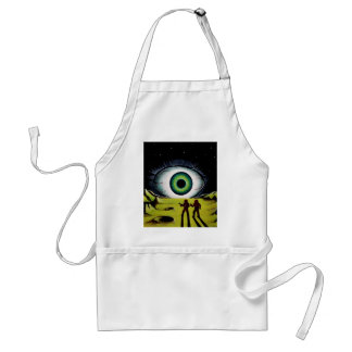 EYE OF THE WATCHER ADULT APRON