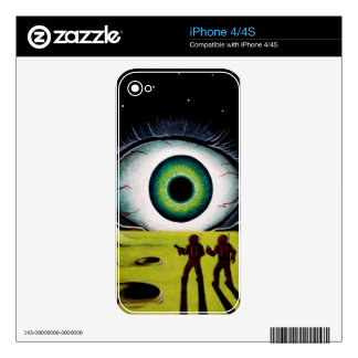 EYE OF THE WATCHER iPhone 4S DECAL