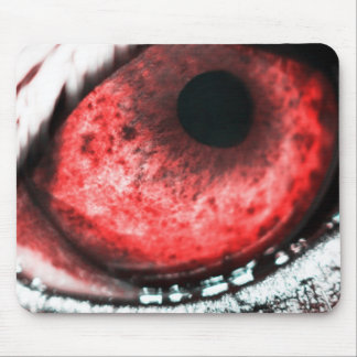 Eye of the wolf mouse pad