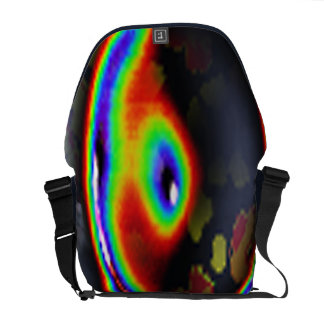 EYE OF THE WORLD COURIER BAG