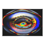 EYE OF THE WORLD STRETCHED CANVAS PRINT