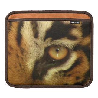 Eye of Tiger Big Cat Wildlife iPad Sleeve