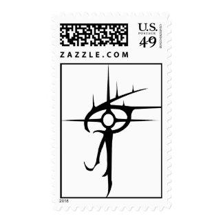 Eye of Vlaxia Black Postage Stamps