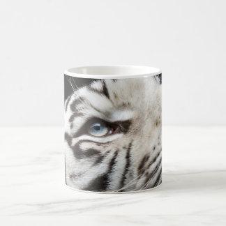 Eye of White Tiger Coffee Mug