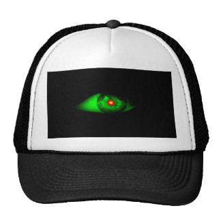Eye of Witch Cool Halloween Design Mesh Hats