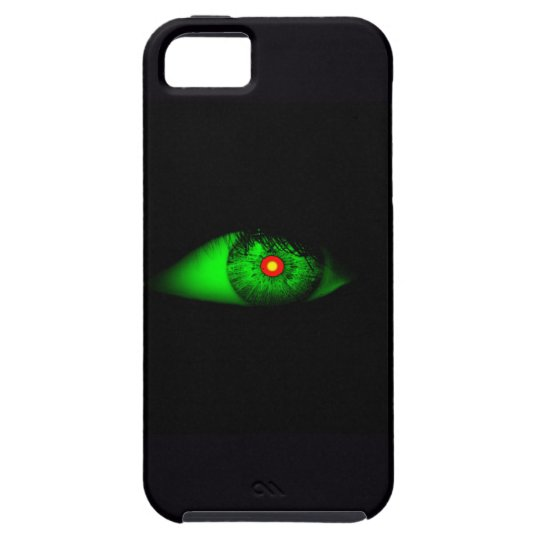 Eye of Witch Cool Halloween Design iPhone SE/5/5s Case