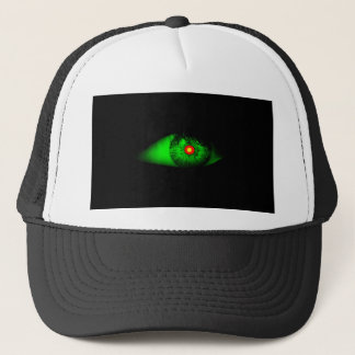 Eye of Witch Cool Halloween Design Trucker Hat