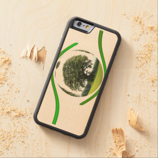 Eye on Ecology Carved Maple iPhone 6 Bumper Case