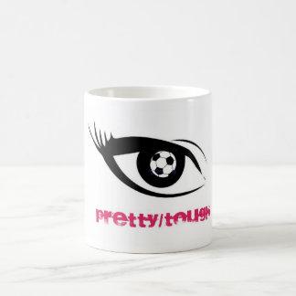 Eye on soccer classic white coffee mug