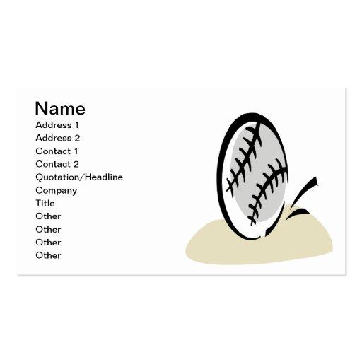 Eye On The Ball Business Card