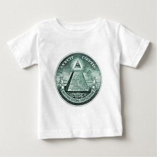 Eye On The Dollar Illuminati Pyramid Tshirts