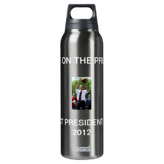 EYE ON THE PRIZE 16 OZ INSULATED SIGG THERMOS WATER BOTTLE