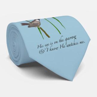 Eye on the Sparrow Tie