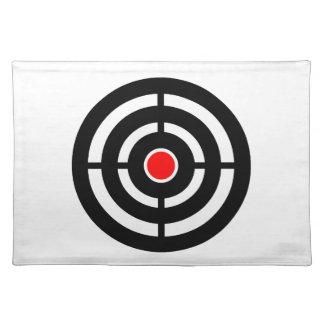 Eye on The Target - Bullseye Print Cloth Placemat