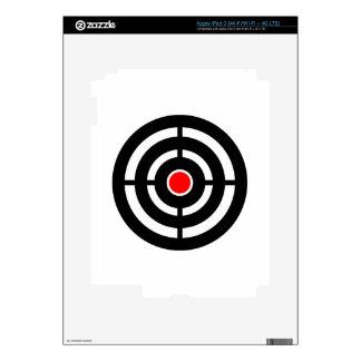 Eye on The Target - Bullseye Print iPad 3 Decals