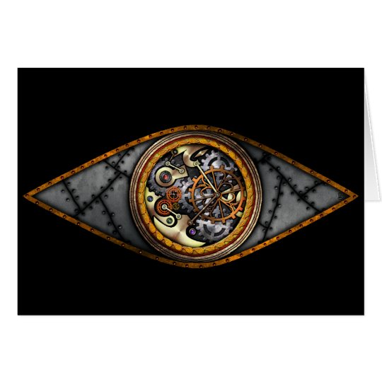 Eye on Time, greeting card
