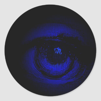 Eye on You Classic Round Sticker