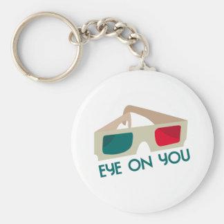 Eye On You Keychain