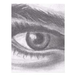 Eye on you letterhead template