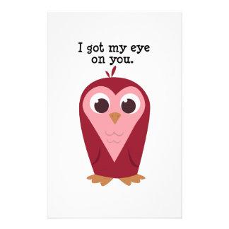 Eye on You Custom Stationery