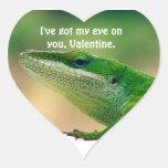 Eye on You,Valentine Heart Sticker