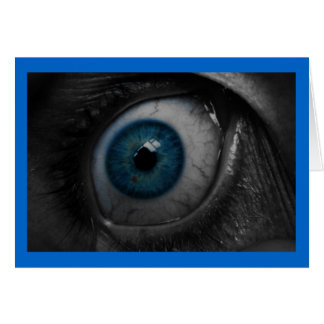 Eye Open Wide greeting card