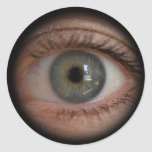 Eye Peephole Funny Sticker
