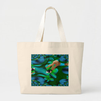 Eye Picked the Flowers Product Large Tote Bag