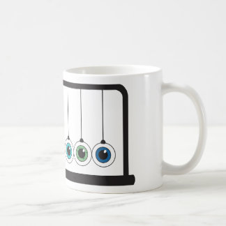Eye-Popping Newton's Cradle Mug Coffee Mugs