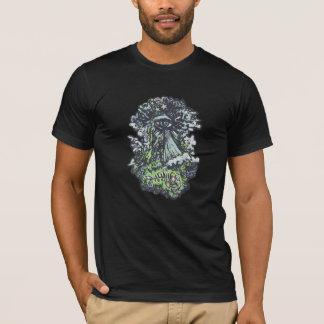 Eye Pyramid, Men's T-Shirt in Black
