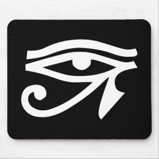 Eye Ra Horus Black Mouse Pad