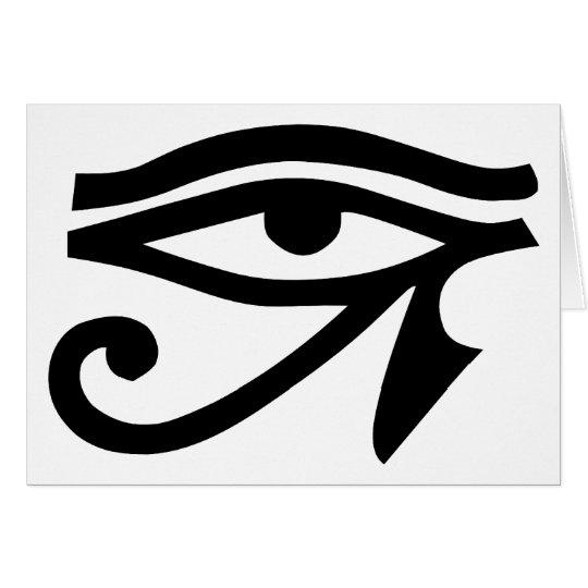 Eye Ra Horus Card