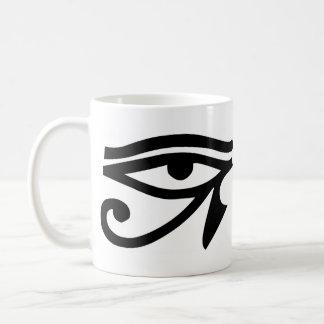 Eye Ra Horus Classic White Coffee Mug