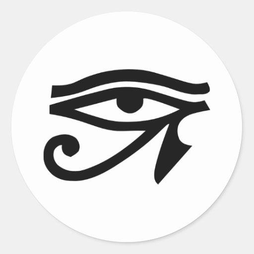 Eye Ra Horus Sticker