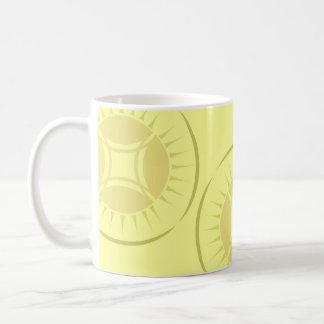 Eye Ray Medallion Coffee Mug