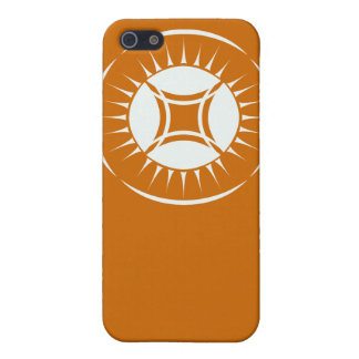 Eye Ray Medallion Cover For iPhone SE/5/5s